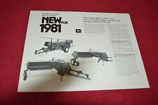 John Deere 327 337 347 Baler Dealer's Brochure C-23-80-7 LCOH