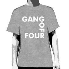 GANG OF FOUR - Logo (Aust) T-shirt - NEW - LARGE ONLY
