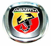 Fiat 500 Abarth Rear Tailgate Boot Badge Emblem New Genuine 735495890