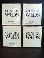 Henri Bendel Vanilla Woods Candles, in Jars, 9.4 oz, NEW in Box, x 4