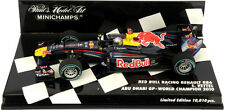 Minichamps RED BULL RB6 Abu Dhabi GP 2010 S VETTEL 2010 F1 WORLD CHAMPION 1 / 43