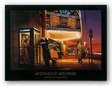 Midnight Matinee by Chris Consani ELVIS MARILYN DEAN 14x11