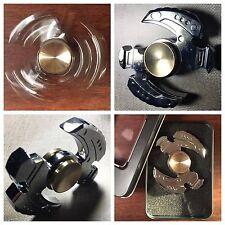 Hand Spinner Tri Fidget Stress Reducer ADHD Anxiety Autism Metal Desk Toy EDC