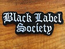 New Black Label Society BLS Rock Music Band Sew Iron On Embroidered Patch