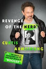 CURTIS ARMSTRONG REVENGE OF THE NERD THE MAN WHO WOULD BE BOOGER HARDCOVER 1st