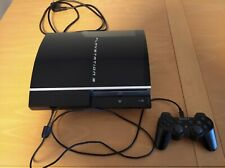 Sony PlayStation 3 80GB Black Spielekonsole (CECHL04 PAL) PS3 plus 1 Controller