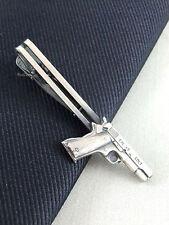 Colt Gun Unique Tie Clasps & Tacks RooZee Tie Clip Tie Bar Tie Pin Made Japan