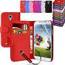 Pelle Libro Custodia Portafoglio Magnetico Flip Cover per SF4 Samsung Galaxy S4