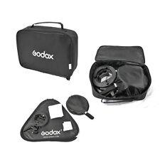 GODOX S-Type Bracket Bowens S Mount Holder+60x60cm softbox+Bag f speedlish Flash