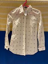 Ann Taylor Man Tailored Blouse OPetite  Original Price $79.50