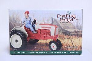 NICE ERTL COLLECTIBLES FOXFIRE FARM 1/16 FORD 901 TRACTOR W/ JIM #7 IN BOX