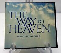John MacArthur ~ The Way To Heaven 5 Disk Audio Book Set Christian Faith Sermons