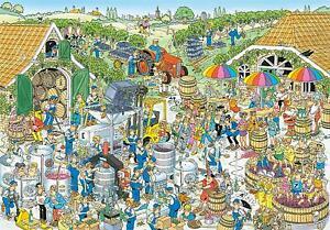 Jan Van Haasteren The Winery Jigsaw Puzzle (3000 Pieces)