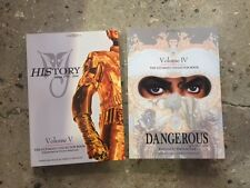 Michael Jackson lot 2 Ultimate Collector Book vol 4 / 5 referential discography