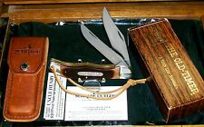 Schrade 25OT Folding Bowie A Knife Like Granddads W/Original Sheath & Box,Papers