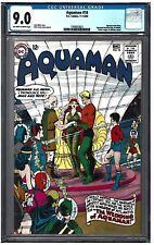AQUAMAN #18 CGC 9.0 (11-12/64) DC Comics Aquaman weds Mera