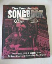 Signed! Dave Stewart Songbook Vol 1 Hc 2008 Eurythmics Musician + 2 Cds Rare!