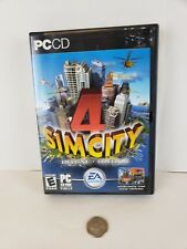 Sim City 4 Deluxe Edition PC CD Great Working Condition Complete