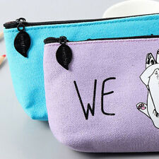 Korean Style Simple Cute Little Cat Cartoon Animal Storage box Bag Pencil Case
