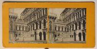 Venezia Palais Dei Doge L Scale Dei Giganti Italia Foto Stereo Vintage