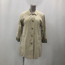 Burberry Trench Coat Size UK14 Regular Brown Lightwear Women's Belted 250420