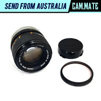 Canon FD 100mm F/2.8 S.S.C. Lens with Filter *Rare *Vintage [Fungus] C3045