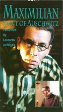 Maximilian Saint Of Auschwitz VHS 1995 Leonardo Defilippis Pope John Paul II VTG