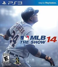 Sony PS3 MLB 14: The Show Video Game major league baseball 2014 multiplayer bat