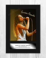 Vanessa Paradis (1) A4 signed mounted photograph picture poster. Choice of frame