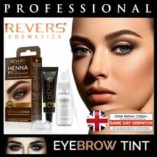 HENNA EYEBROW EYELASH TINT Professional Brow Dye Cream Black Brown Graphite 15ml