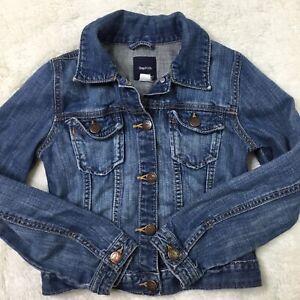 Gap Kids Girls Size 8 Denim Jean Jacket Blue Stretch