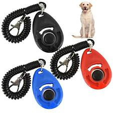 Pet Animal Training Clicker with Rope Training Clicker for Training PETS(HT6211)