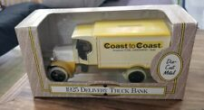 COAST TO COAST HARDWARE 1925  DEL TRUCK 1993 DIECAST ERTL BANK