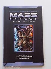 Dark Horse Mass Effect Evolution Hard Cover Comic Book Graphic Novel