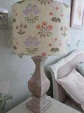 Handmade Drum Lampshade 30cm William Morris Lily floral fabric