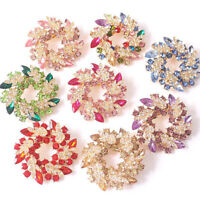 Womens Flower Brooch Dress Pin Wedding Party Fashion Accessories Gift Daily Wear