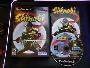 Shinobi (Sony PlayStation 2 PS2) Complete CiB - Tested