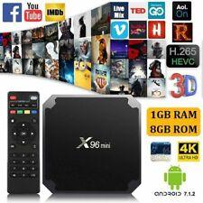 X96 Android 7.1 Mini TV Box Quad Core Smart Media Player HD Wifi 4K 17.3 HDMI