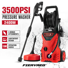 Fieryred High Pressure Washer Cleaner 3500PSI 10M Hose Electric Water Gurney