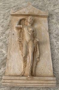 Hermes Athena Statue Wall Sculpture - Greek Art