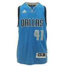 Youth adidas Dirk Nowitzki Basketball Jersey S