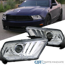 Fit Ford Mustang 10-14 Led Sequencial sinal claro lâmpadas Projector Headlights
