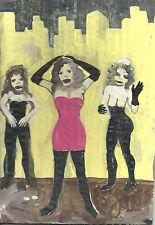 Friends   by William Mayer new york artist surreal  impressionist