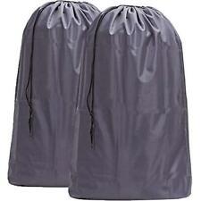 HOMEST 2 Pack Large Nylon Laundry Bag, Machine Washable Large Dirty Clothes