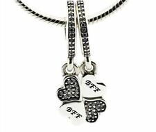 BFF DANGLE .925 Sterling Silver European Charm Bead B2