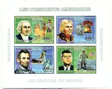 PRESIDENTS AMERICAINS - U.S.A. PRESIDENTS CONGO 2006 set imperforated