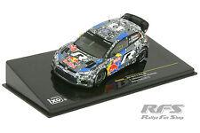 Volkswagen VW Polo R WRC - Rallye Wales 2013 - Mikkelsen  - 1:43 IXO RAM 565