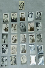 More details for job lot of 26 postcards - some autographed (jean simmons, anthony newley etc.)