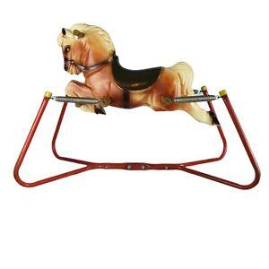 VINTAGE 1958 Wonder Horse Rocking Bouncing Spring Hobby Horse