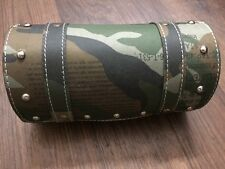SADDLE BAG ROUND SUITABLE FOR ROYAL ENFIELD BULLET MILITARY LOOK